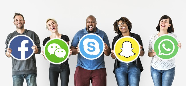 SmartDesk social people